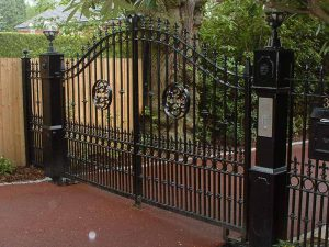 Electric Wrought Iron Gate Jersey