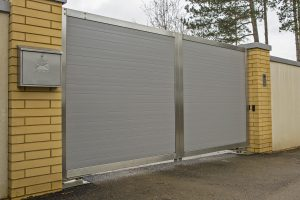Aluminium Gates With Steel Frame Jersey