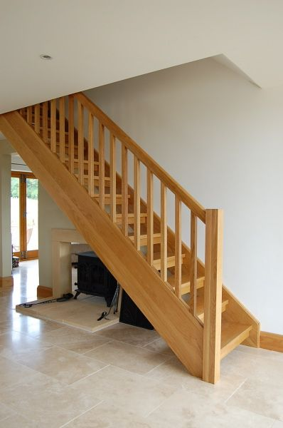 Straight Oak Staircase Jersey