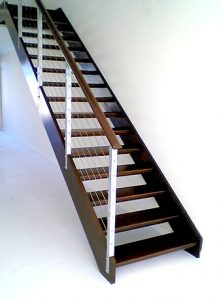 Wood-Steel Staircase