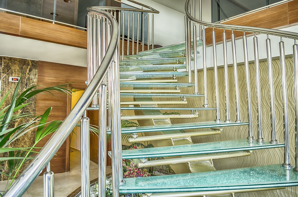Steel & Glass Staircase