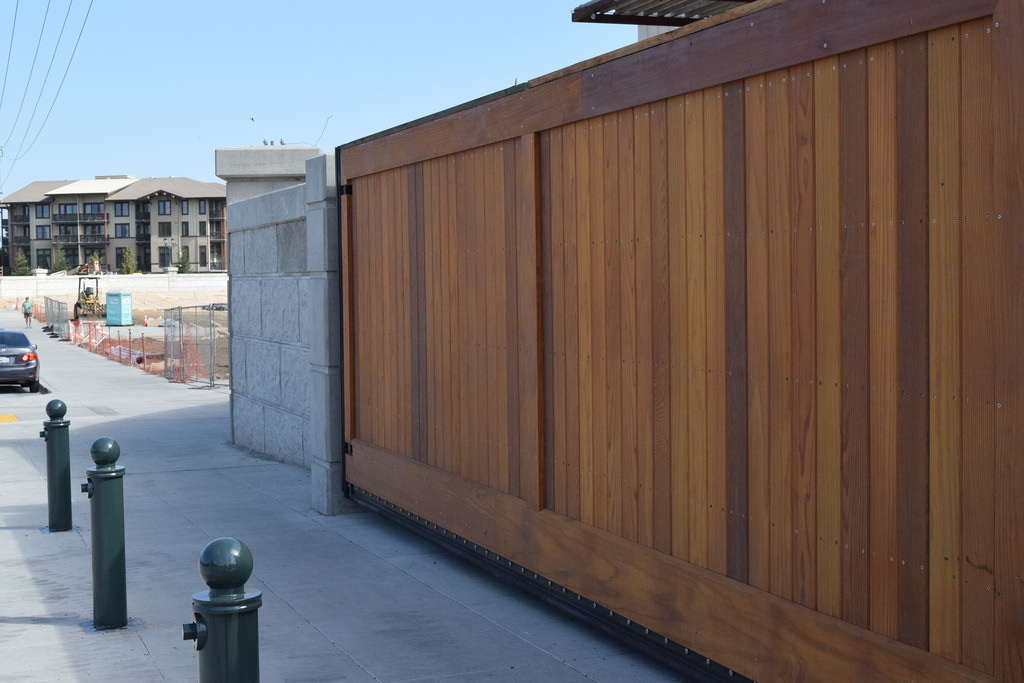 Timber Sliding Gates
